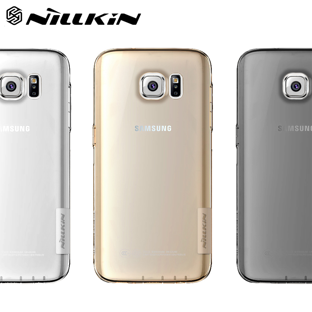 detailed look 5512c 2268a Details about For Samsung Galaxy S7 S6 Transparent TPU Dust Cap/Drop  Protection Phone Case
